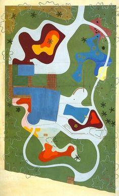 by Roberto Burle Marx