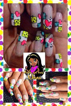 176 Mejores Imágenes De Uñas Decoradas Cute Nails Nail Art