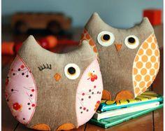 Owl Plushie PDF Sewing Pattern Instant Download