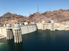 Hoover Dam em Nevada/Arizona, NV