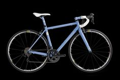 Enigma Elle 3AL 2.5V titanium women's road bike, engineered for those cyclists who spend long hours in the saddle but demand performance as well as comfort.