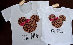 Camisetas Tal mãe tal filha - Elo7