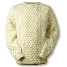 O' Grady Clan Aran sweater. (My family name). I want this so bad. It's $230. :(