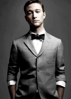 I don't think I realized how handsome he was until I saw him on the Golden Globes.  Damn, Jason Gordon Levitt...