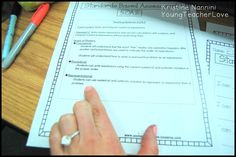 I always struggle to understand exactly what students need to know with each Common Core Standard. These teaching notes have helped me with teaching, re-teachings, and interventions! They spell out what students must know (in language I can understand!) with assessments to go with the teaching notes! Very helpful! $