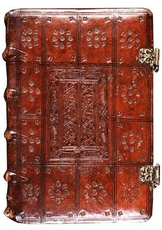 Book bindings of the Royal National Library of The Netherlands.