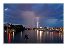 Berlin mit Blitzeinschlag
