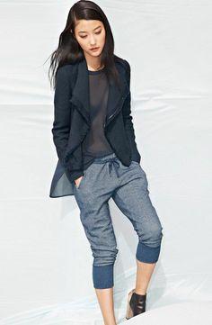 40 ideen f r trendy jogginghosen f r damen frauenmode pinterest jogginghose trends und grau. Black Bedroom Furniture Sets. Home Design Ideas