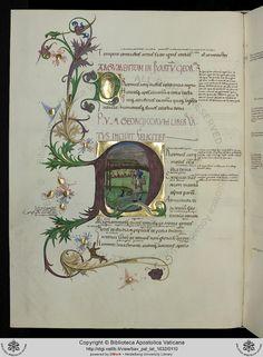 Vatican Archives • Pal. lat. 1632: Pal. lat. 1632 Vergilius Maro, Publius: Sammelhandschrift (Deutschland, 15. Jh.)