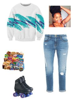 """""""."""" by flawless23forever ❤ liked on Polyvore featuring Frame Denim, women's clothing, women, female, woman, misses and juniors"""