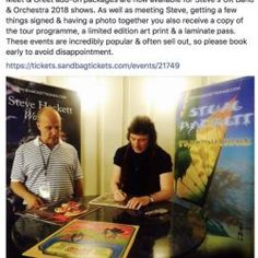 Pin by oliver wendall on pictures with steve hackett pinterest the picture steve hackett meet greet m4hsunfo
