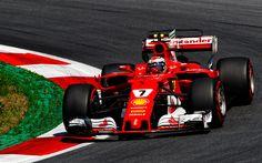 Indir duvar kağıdı 4k, Kimi raikkonen ayrıca, 1 Ferrari SF70H, F1, 2017 arabalar, Formül, Scuderia Ferrari