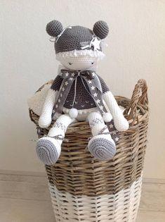 Crochet doll/ crochet fairy/ amigurumi / fairy doll/ baby