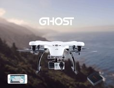 The headset also follows gestures so turning your head allows you to turn the gimbal on the drone.