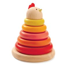 Find Djeco cachempil Mother hen ring stacker from Djeco at the best price on Jeujouet ! Large choice of Djeco products on our specialty store. Toddler Toys, Baby Toys, Kids Toys, Stacking Toys, Stacking Rings, Musical Toys, Learning Toys, Natural Baby, Games