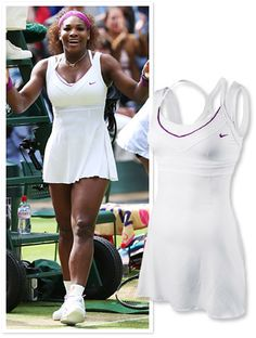 nice tennis outfit from nike