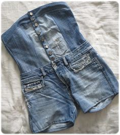 Old jeans-refashion