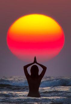 Greeting the Sun, #Yoga Health Retreats, #Meditation