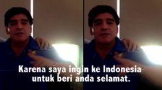 Maradona Dukung Prabowo Jadi Presiden - Beneran!!!