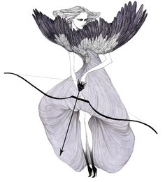 Fashion Illustrator Laura Laine, with her girly drawings and very own style