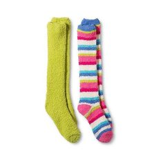 Legale Women's 2-Pack Cozy Knee High Socks - Green One Size, Size:... ($16) ❤ liked on Polyvore featuring intimates, hosiery, socks, green, knee socks, green knee high socks, green hosiery, green knee socks and green socks
