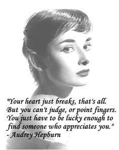 Audrey Hepburn Quote by LadyDietrich on DeviantArt Frases Audrey Hepburn, Audrey Hepburn Photos, Audrey Hepburn Style, Aubrey Hepburn Quotes, Audrey Hepburn Wallpaper, True Quotes, Great Quotes, Words Quotes, Quotes To Live By