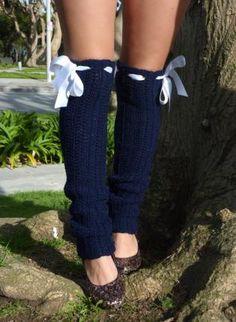 over the knee crochet leg warmers
