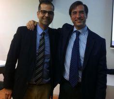 En una conferencia con el Dr. Mario Alonso Puig. Una persona excepcional!