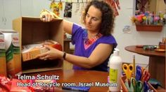 How to create a chest of drawers from cornflake boxes - Recycle! on Vimeo.  Other neat ideas on Israel Museum's Recycling Workshop page: http://www.english.imjnet.org.il/page_2006