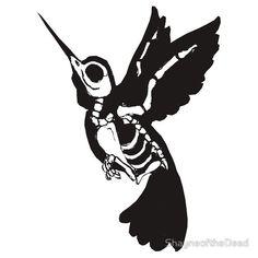 Skeleton Humming Bird