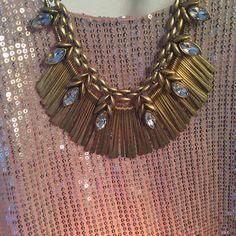 Luxurious layering // Stella & Dot // Birdie Necklace + Essential Fringe Necklace