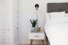 Floating Nightstand, Interior Design, Table, Furniture, Tips, Home Decor, Floating Headboard, Nest Design, Decoration Home