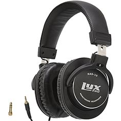 LyxPro HAS10 Closed Back OverEar Professional Studio Monitor  Mixing Headphones Newest 45mm Neodymium Drivers for Wide Dynamic Range  Lightweight *** Continue to the product at the image link-affiliate link. #BestHeadphones