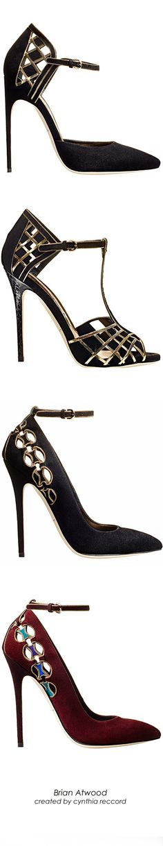 Brian Atwood | FW 2014 Collection | cynthia reccord | House of Beccaria~