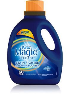 Purex Magic Release Stain Fighter & In-wash Booster. #mypurexfavorites