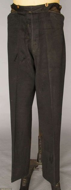 Trousers (image 1) | 1860s | wool | Augusta Auctions | April 20, 2016/Lot 176