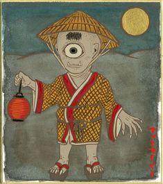 From Shigeru Mizuki's Yokai Jiten, a guide to 100 traditional monsters of Japan…