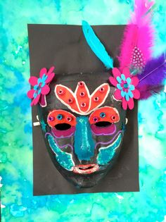 Decorative Mask Yr4