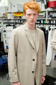 Margaret Howell SS15 Mens collections, very Bowiesque.