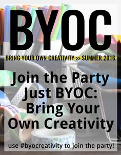Bring Your Own Creativity Party - June Prompt - createintandem.com