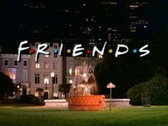 """I want to play the """"friends"""" theme song and reenact the fountain scene with some friends, have someone film it. Get a photograph of the last pose with the lamp too. Tv: Friends, Friends Season 1, Serie Friends, Friends Tv Show, Friends Theme Song, Friends Trivia, Friends Moments, Friends Forever, Season 3"""