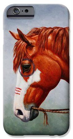 Native American War Horse Phone Case iPhone 6 Case