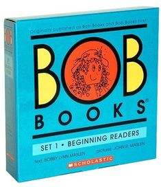 Bob Books Set #1: Beginning Readers My nephew is 3 and reading with the help of these simple books.