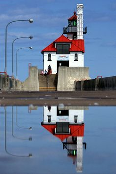 Duluth Harbor South Breakwater Outer Lighthouse...Duluth, MN