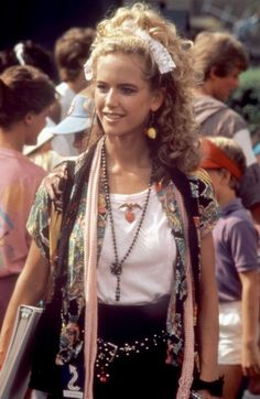 Space Camp.    Kelly Preston as Tish Ambrosei