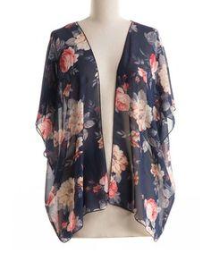 Kaleena Kimono | I love kimonos | Pinterest | Kimonos and Floral ...