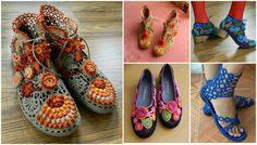 Görünce güzelliklerine bayılacağınız örgü ayakkabı modelleri tüm bayanların çok severek yapacaği el işleri olacak . El örgüsü ev ayakkabısı.