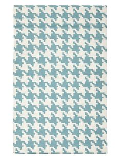 0% OFF Surya Flatweave Rugs Frontier (Turquoise/White)