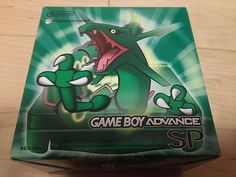 NEW!! Pokemon RAYQUAZA LIMITED EDITION Nintendo GAMEBOY ADVANCE SP CONSOLE-C- - http://video-games.goshoppins.com/video-game-consoles/new-pokemon-rayquaza-limited-edition-nintendo-gameboy-advance-sp-console-c/
