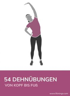 Titelbild 54 Dehnübungen – Keep up with the times. We're here for you. Fitness Workouts, Pilates Workout, Insanity Workout, Best Cardio Workout, Butt Workout, Yoga Fitness, At Home Workouts, Sport Fitness, Pilates Benefits